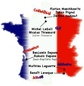 Equipe de France Mixte 2008